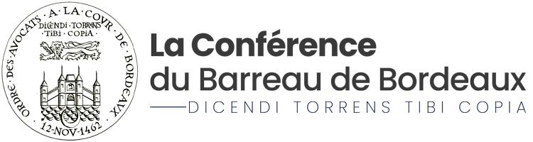 Conférence du Barreau de Bordeaux